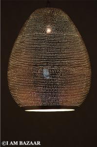 egyptische filigrain hanglamp